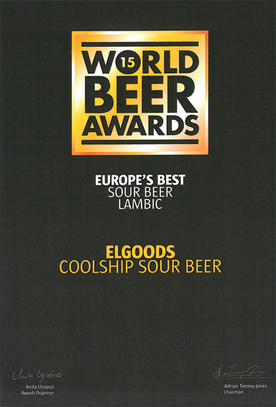 Elgood's World Beer Award
