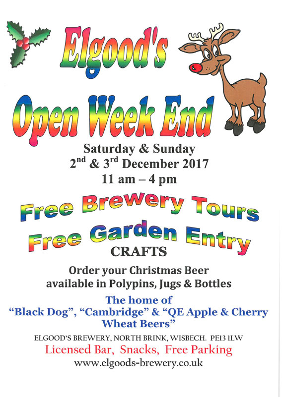 Christmas Open Weekend 2017