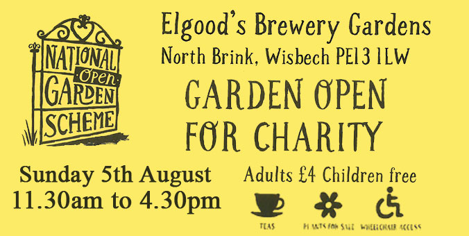 National Garden Scheme Open Day - Elgood's Brewery Gardens