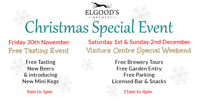 Christmas 2018 Open Weekend Event