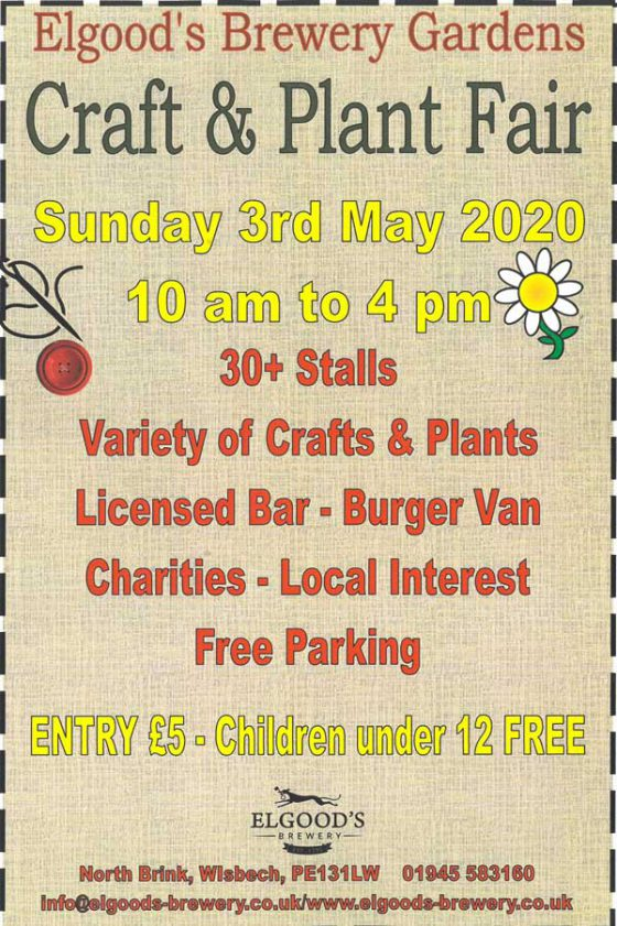 Craft & Plant Fair Spring 2020